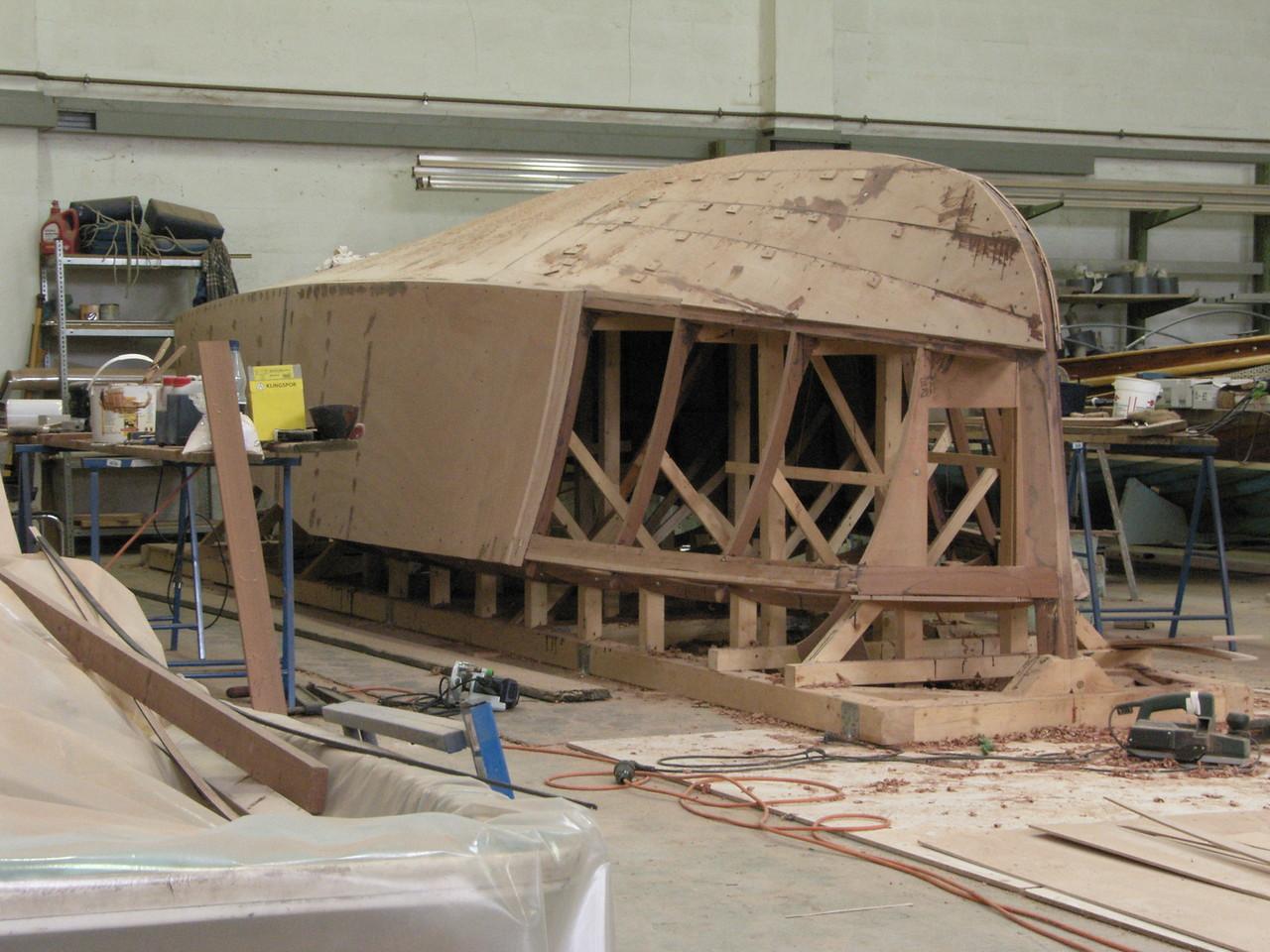 6,8m Poop Deck Motor Boat