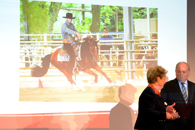 Der Österreichische Pferdesportverband ehrt Europameister Reini Hochreiter am 5. Dezember im Grand Casino Baden. Foto: Appenzeller