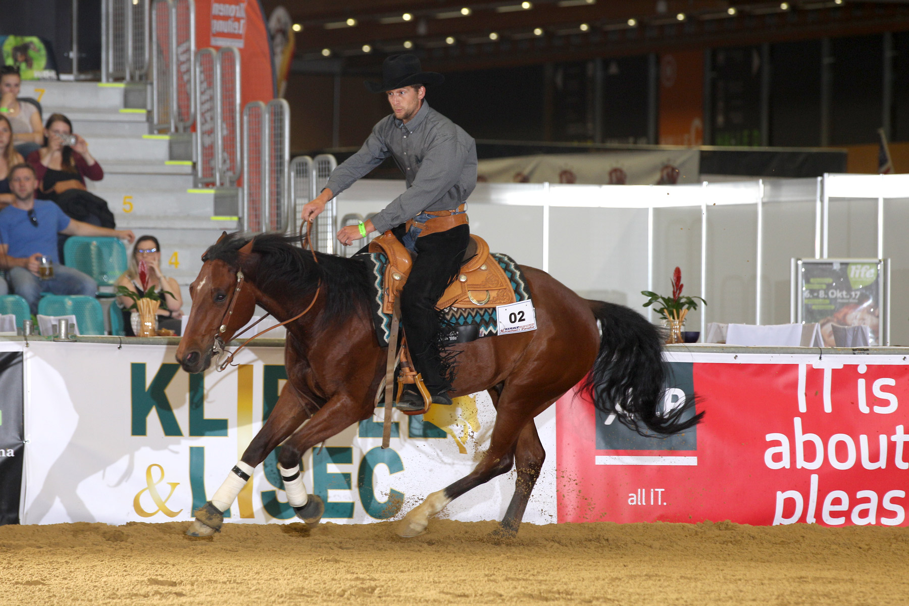Taris Smart Tino, ZNS Open Reining. Foto: CK Photographics
