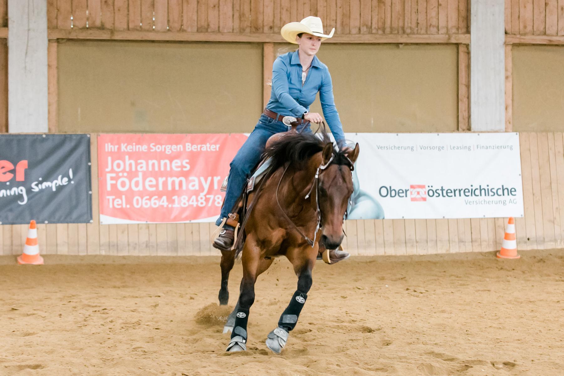 """Sophia Lindinger-Pesendorfer war die Rookie-Reiterin des Teams """"Tom and his Cherries"""". Foto: Andrea Indrich"""