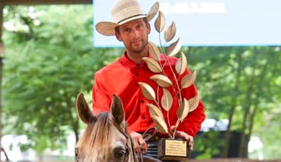 Reini Hochreiter ist Rider des ECAHO Best Junior Western Horse 2021