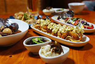 宮古島の素材の料理