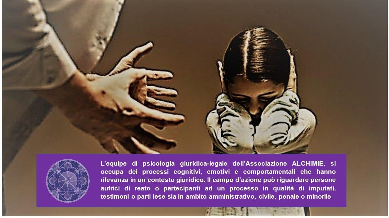 Psicologia GIURIDICO-LEGALE by ALCHIMIE