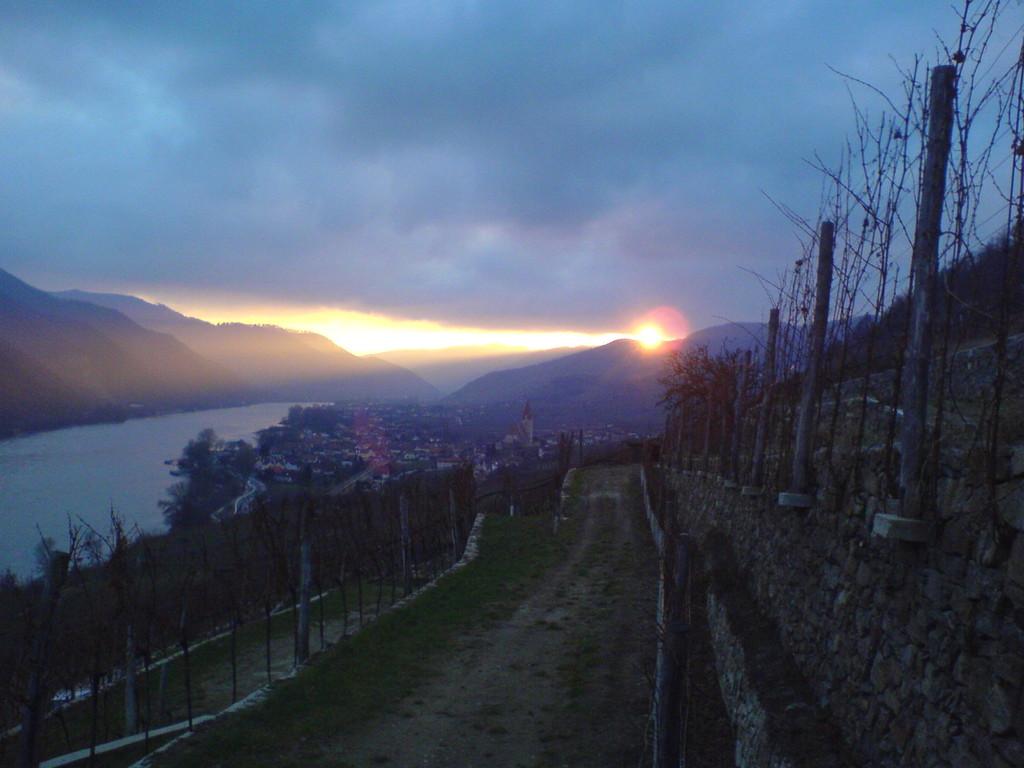 Achleiten Sonnenuntergang