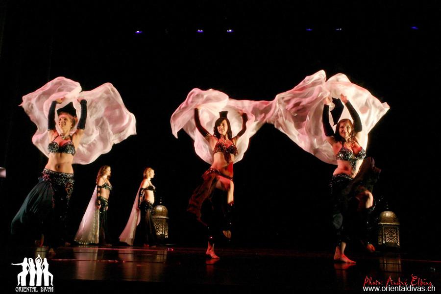 Oriental Divas - Schleiertanz an der Esquisse d'Orient 2010