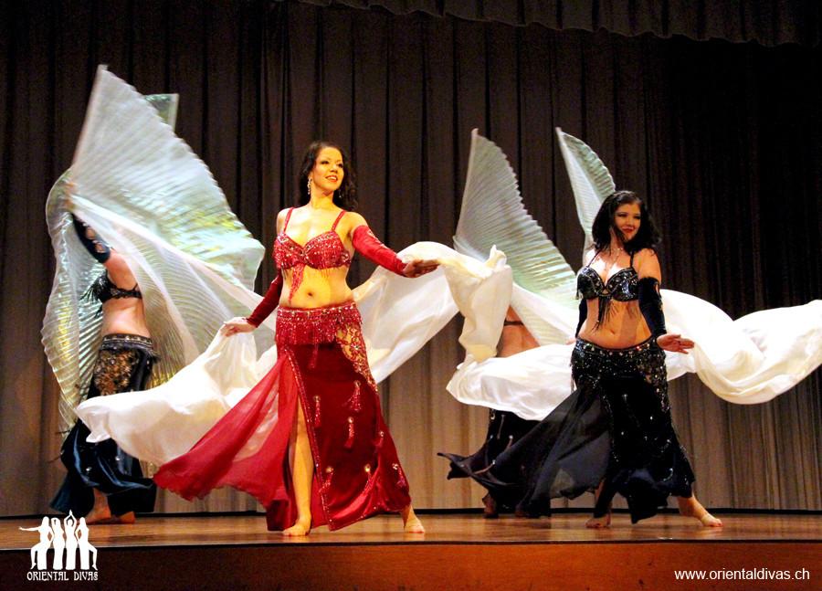 Oriental Divas - Raks Mozart an der ZeoT Bern Show 2012