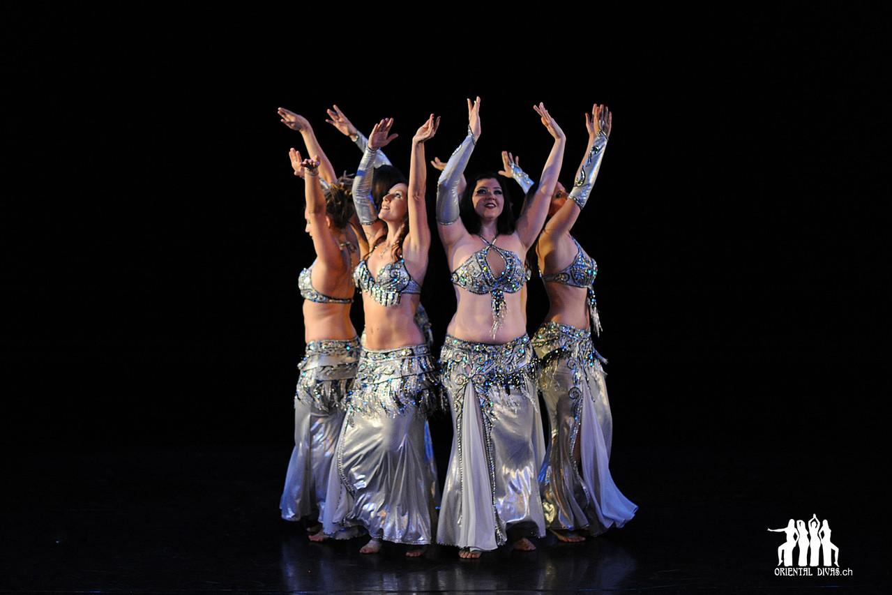 Oriental Divas - Raqs Sharqi an der Show Odalisque 2011