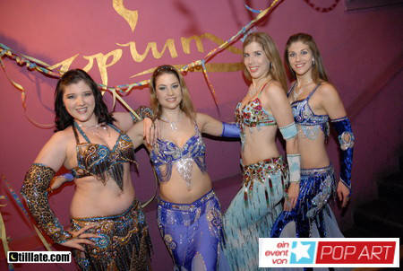 Oriental Divas - Silvesterauftritt in der Opium Lounge Aarau