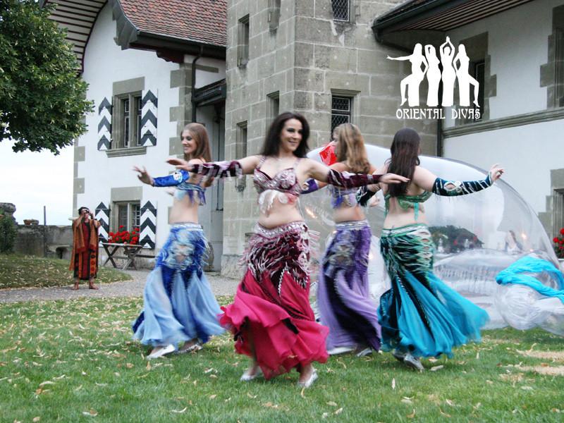 Oriental Divas - Auftritt Kunstausstellung in Rue/FR 2008