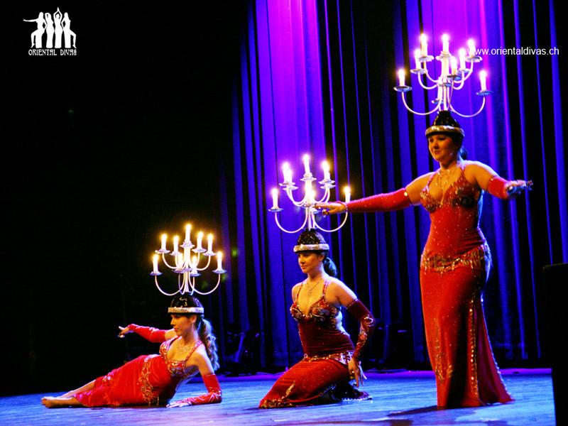 Oriental Divas - Tanz mit dem Shamadan an der ZeoT Expedition 2011