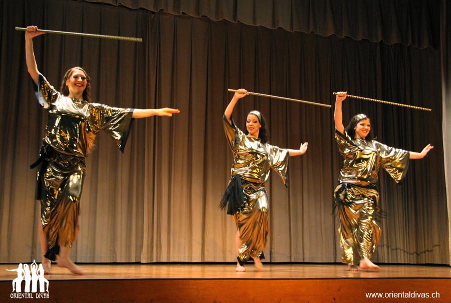Oriental Divas - Stocktanz an der ZeoT Bern Show 2012