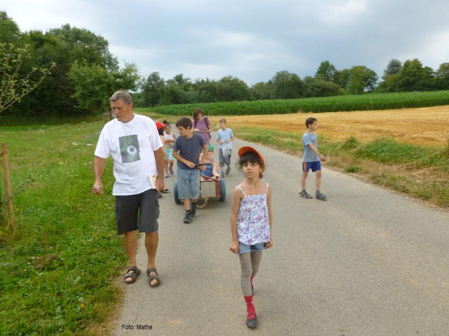 Winni und die Kräuterwanderer