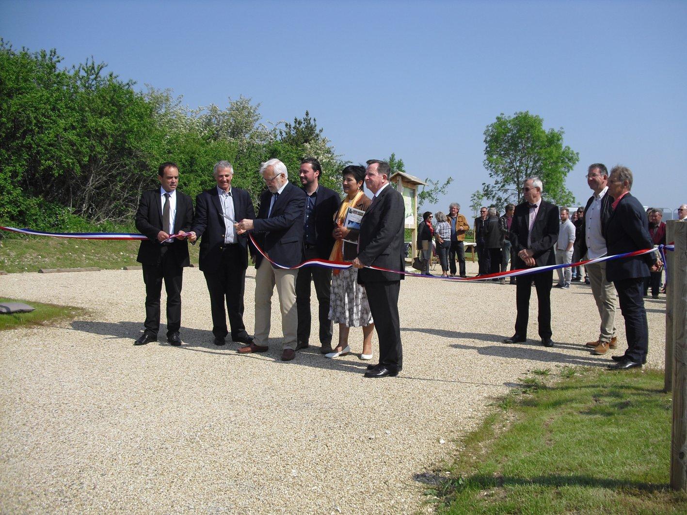 Inauguration du sentier (05/05/18)