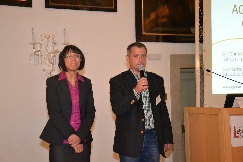 Begrüßung der Vortragenden Fr. Dr. Daniela Schachner Abteilungsleiterin bei der Bundesanstalt für Lebensmitteluntersuchung (AGES) Linz