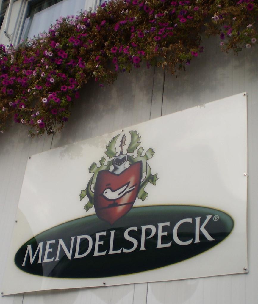 """Besuch der Fa. Mendel - Produzent des """"Südtiroler Specks"""""""