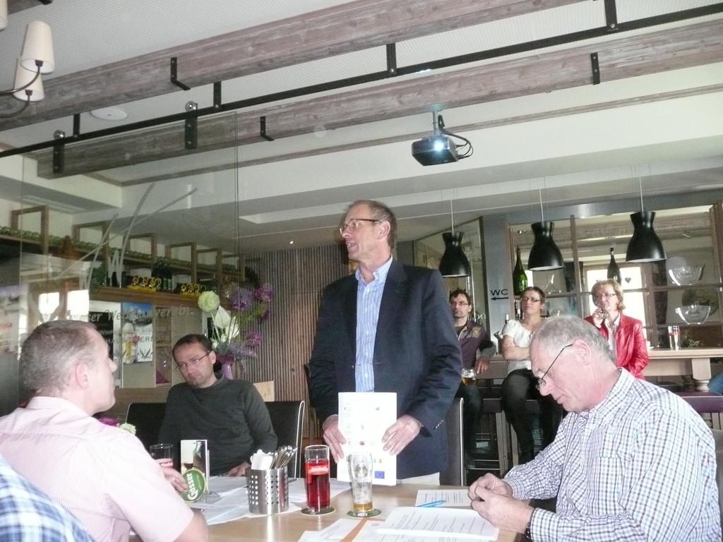 Kollege Brunnbauer Magistrat Wels berichtet über den EWFC