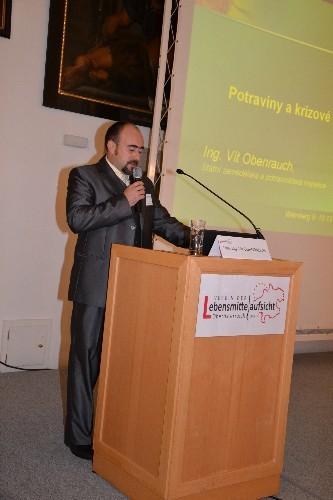Dipl. Ing. Vit Obenrauch Leiter des Regionalbüros der Lebensmittelkontrolleure in Brno