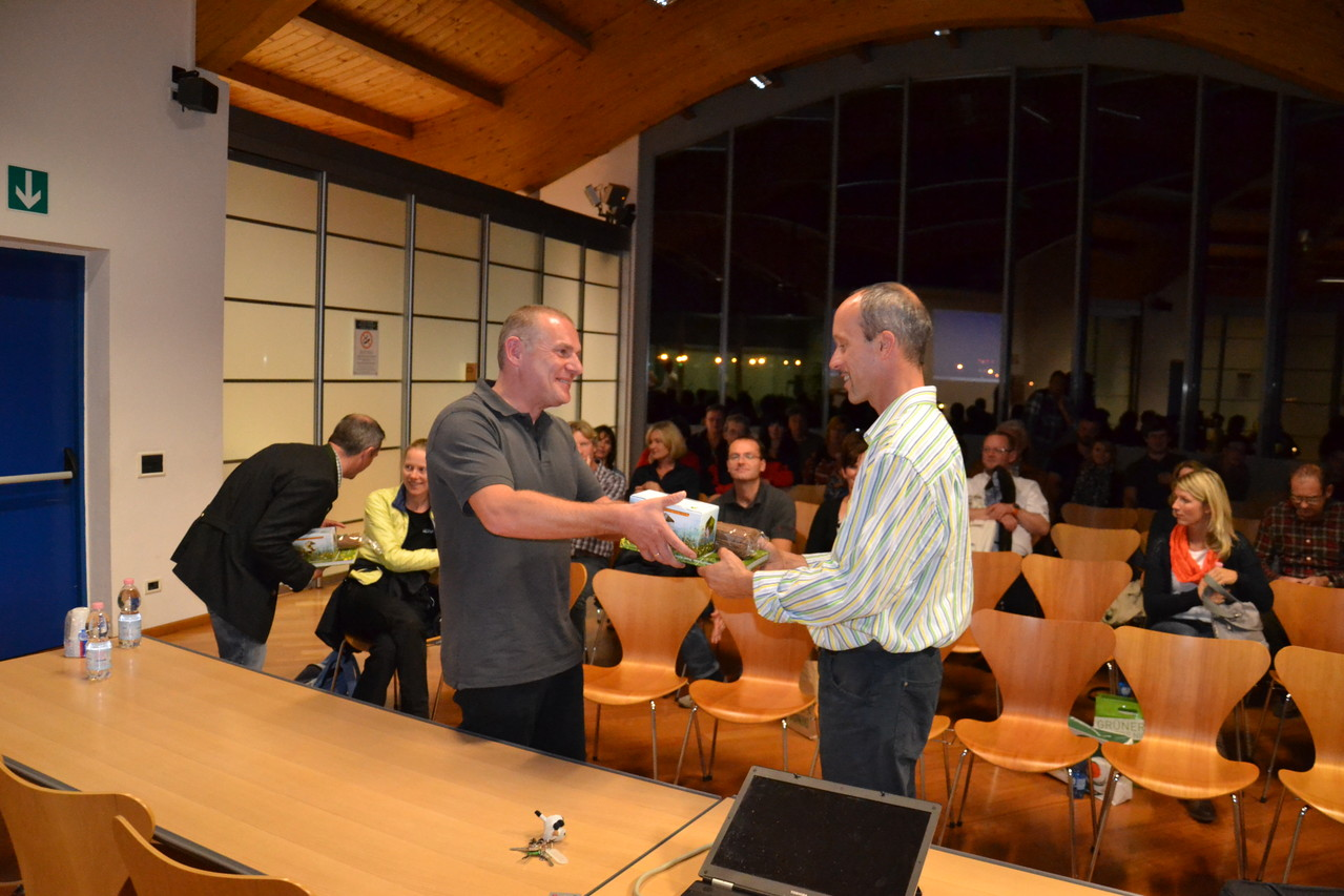 VErabschiedung von den verantwortlichen der Südtiroler Lebensmittelkontrolle