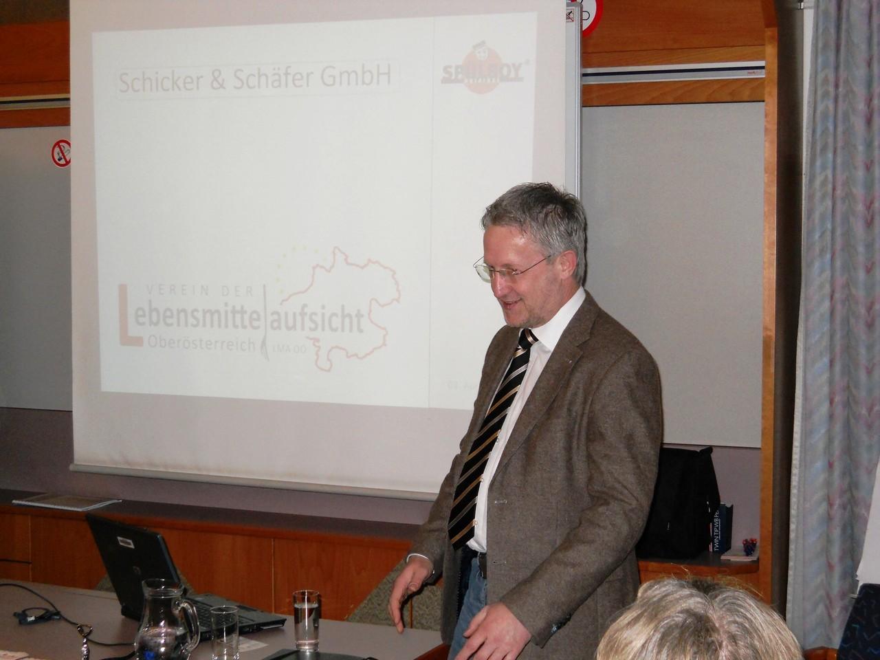 Kooperationspartner Firma Spülboy: Hr. Heyen Uwe und Hr. Volk stellen ihre Produkte vor