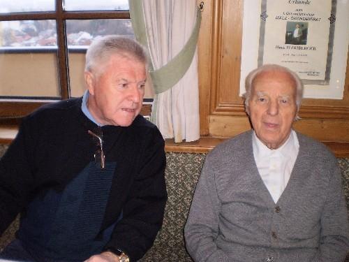 Landesleiter a. D./Prof. Gerstorfer Johann und Koll. Murauer Ernst i.R.