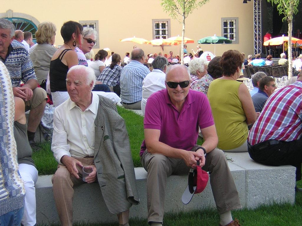 Landesleiter a.D. Herr Gerstorfer und Kollege siess/BH Gmunden