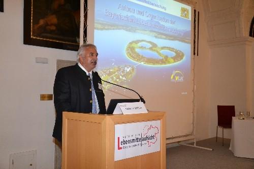 Landesvorsitzender des Verbandes der Lebensmittelkontrolleure Bayerns