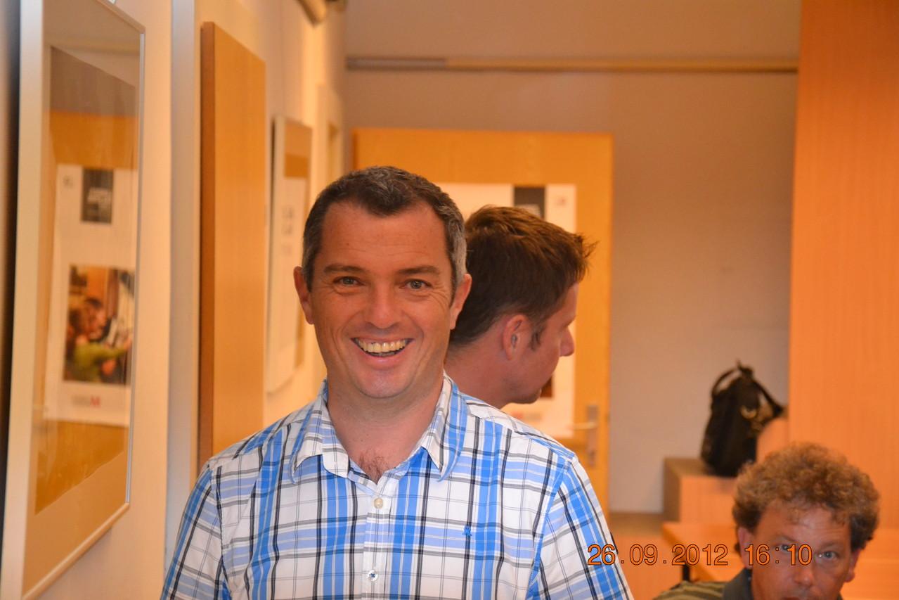 Koll. Mayrwöger/Pilzexperte BH Freistadt und Vereinskassier hat bei so fachkundiger Informationen gut lachen...