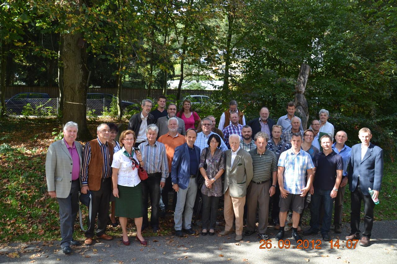 Gemeinschaftsfoto der Pilzfreunde des Vereins der  OÖ. Lebensmittelaufsicht