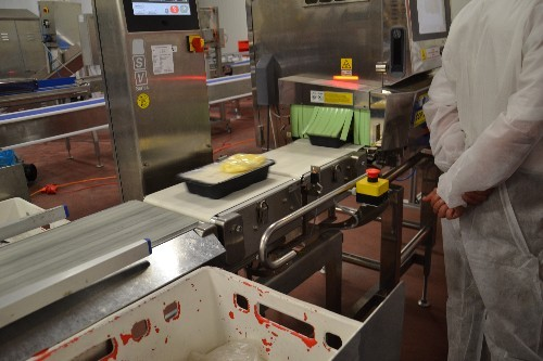Besichtigung der Lasagneproduktion