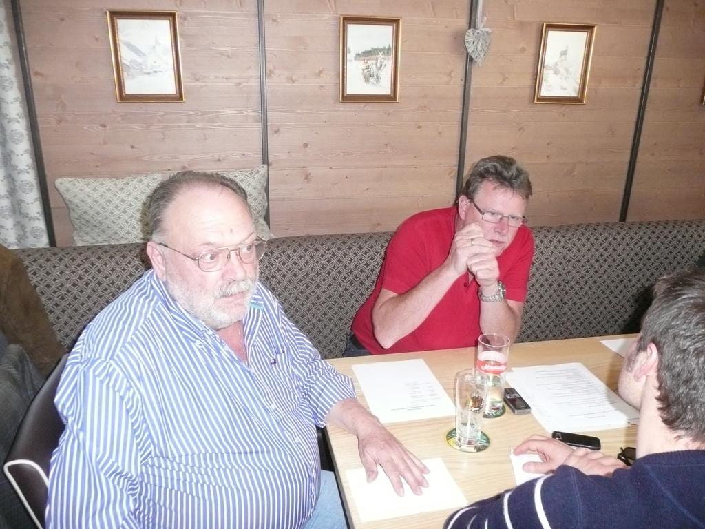 Koll. Pflügler Magistrat Wels Orgnisator der Generalversammlung mit Koll. Semen BH Rohrbach