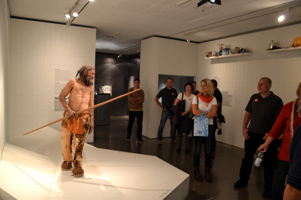 Besuch des Ötzi-Museums in Bozen!