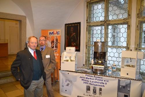 Gäste bei der Ländertagung unsere Kooperationspartner Fa. Polzer und Fa. Spülboy