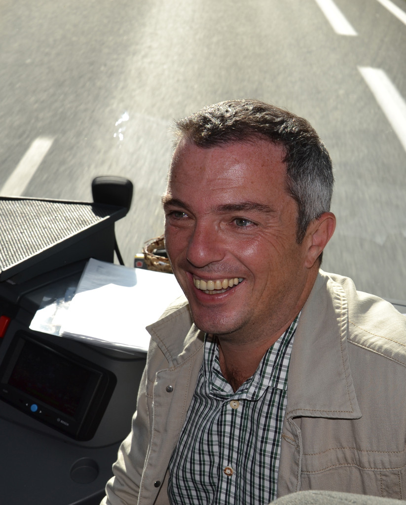 Organisator und perfekter engagierter Reiseleiter Koll. Mayrwöger Günther