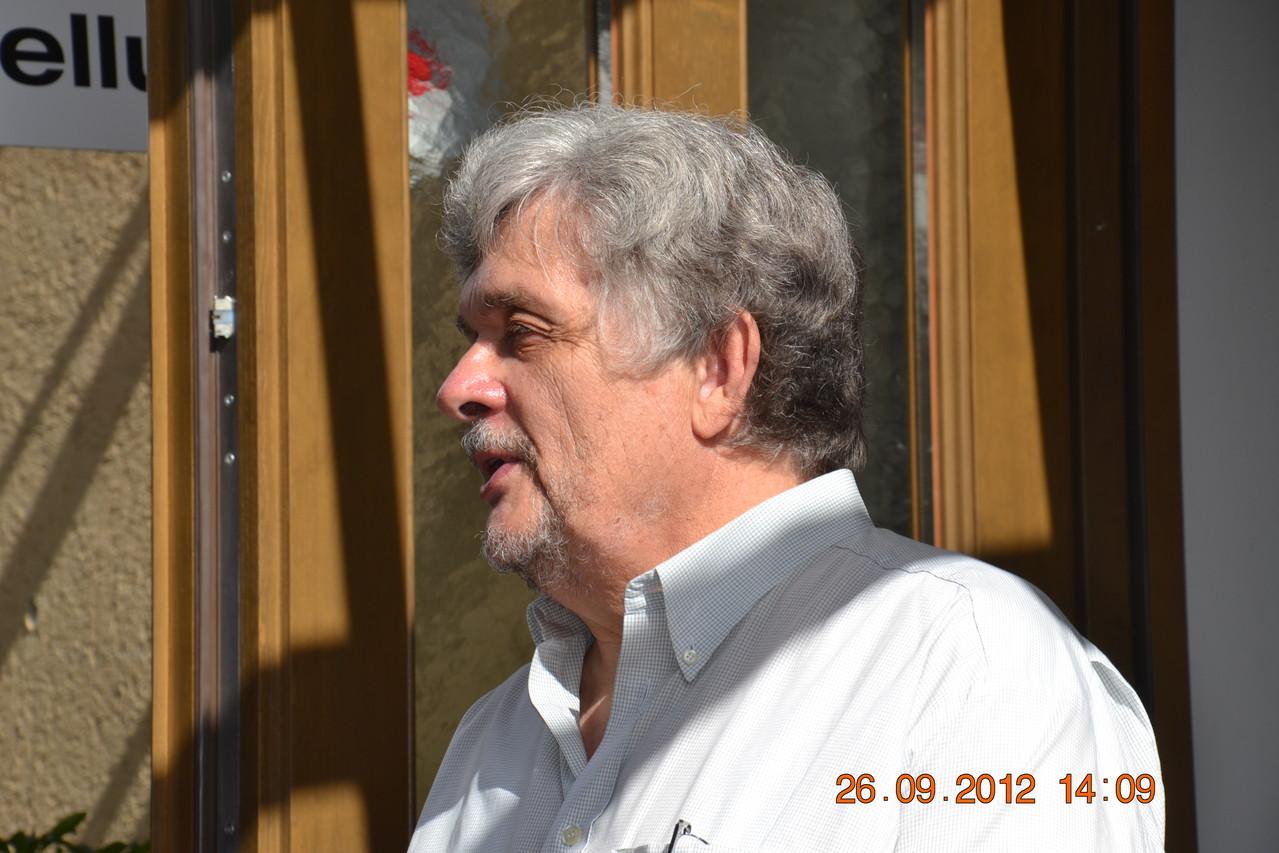 Hr. Ing Sueti Leiter des Linzer Biologiezentrums