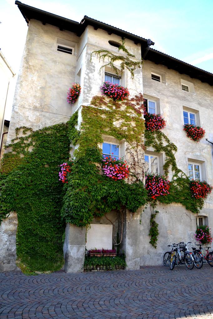 ...am Hauptplatz von Brixen...