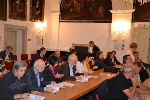 Die Delegation der AGES Linz...