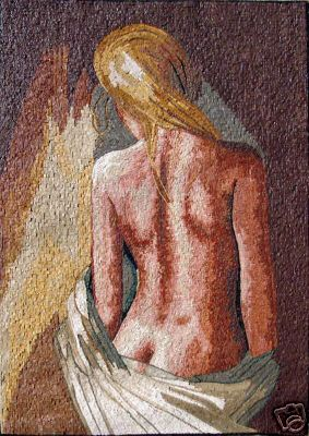 mosaico donna