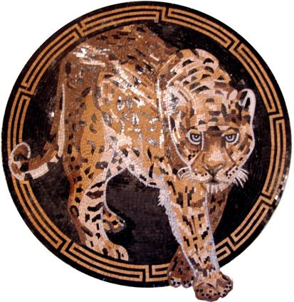 mosaico tigre