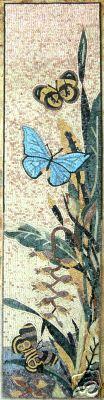 mosaico farfalla