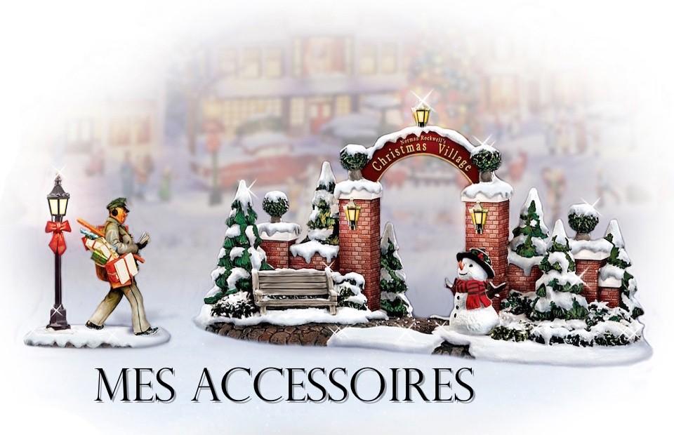 Accessoires , Petits mondes miniatures de Noël