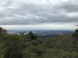 高尾山の景色