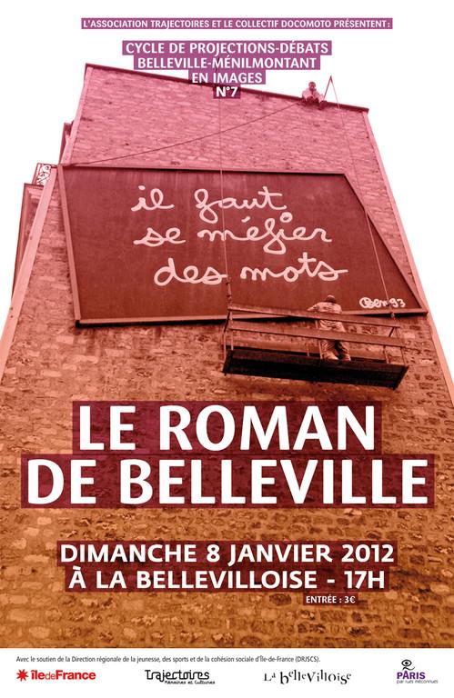 Séance n°7  Le roman de Belleville