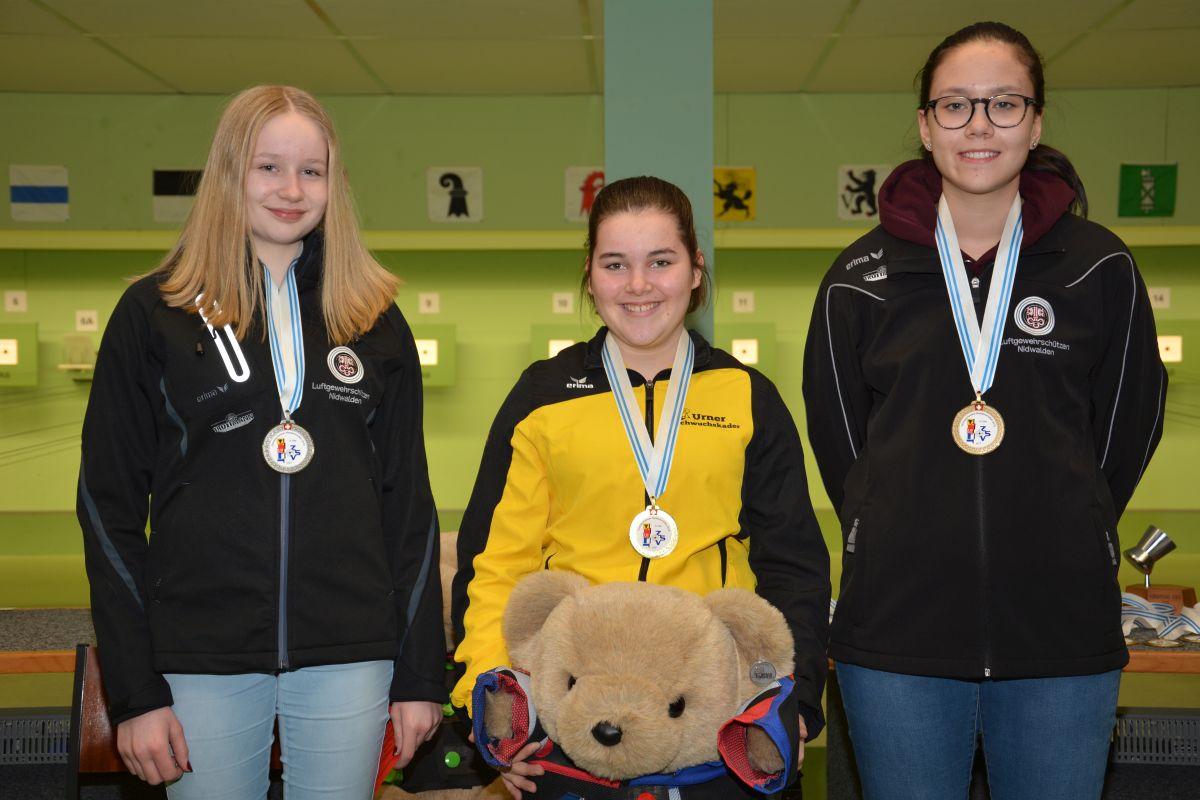 Podest Einzelmeisterschaft U17 2019