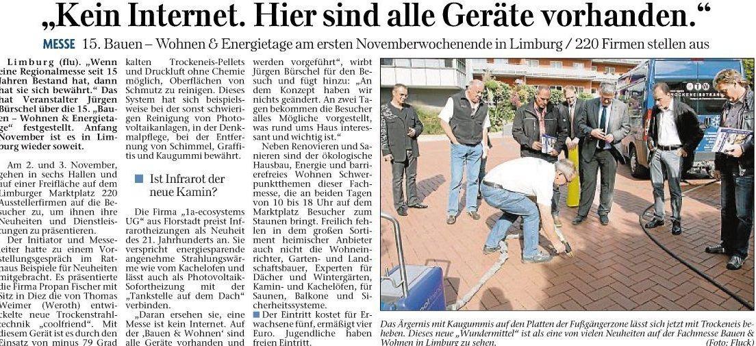 Nassauer Tageblatt 07.10.2013