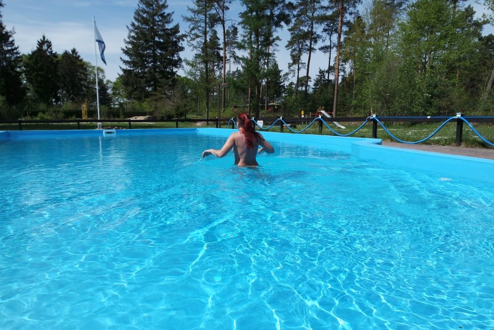 Sommer - Das Schwimmbad