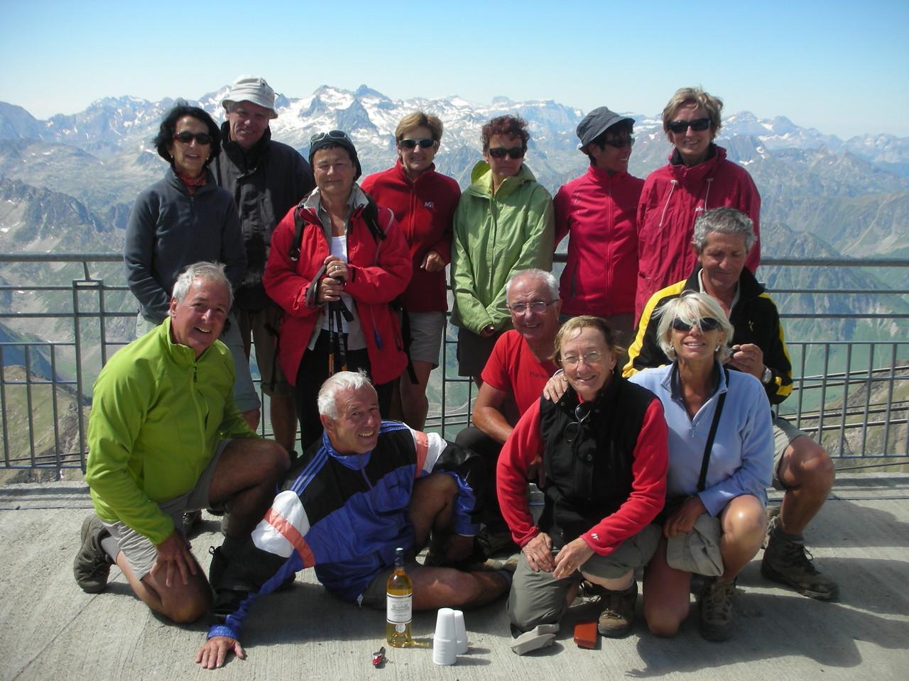 Arrivée au Pic du Midi de Bigorre