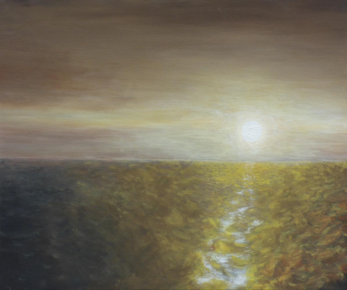 """Herbst"", 2019, Acryl auf Pappe, 60 x 50 cm"