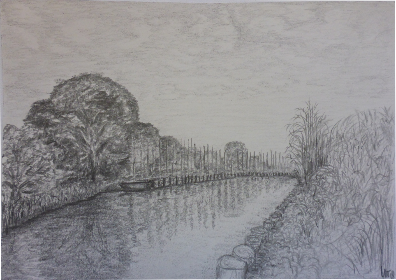 """Ryck II"", 2018, pencil on paper, 30 x 21 cm"