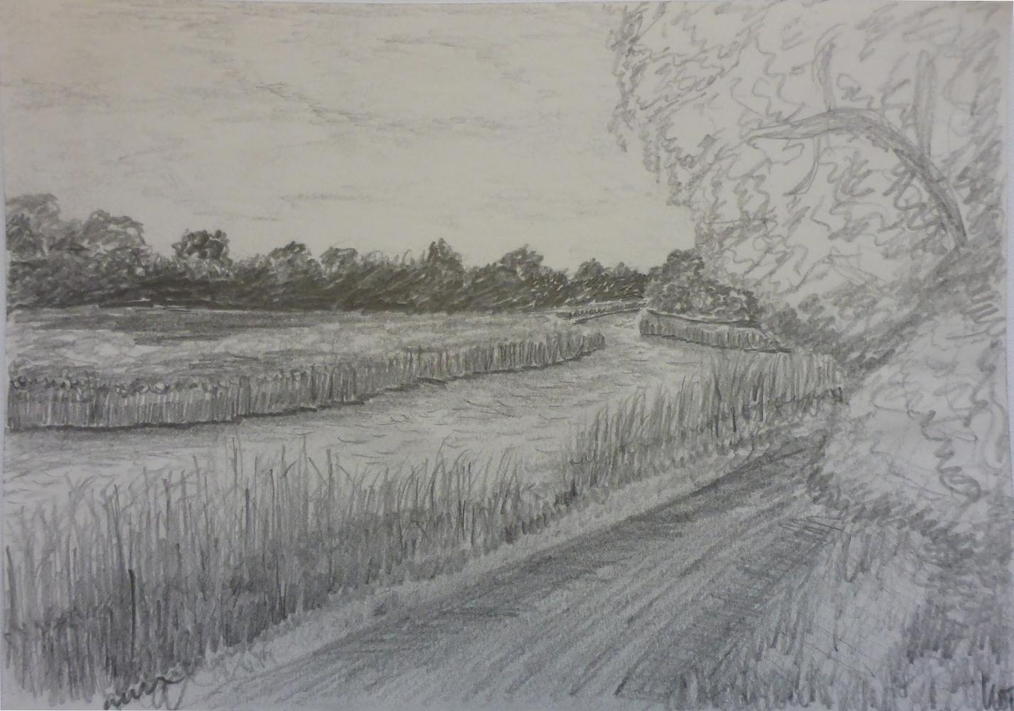 """Ryck I"", 2018, pencil on paper, 30 x 21 cm"