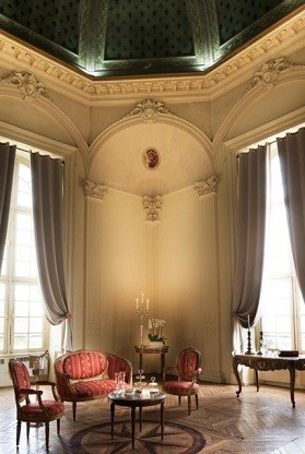 Salon où naquit Louis XIV au Pavillon Henri IV